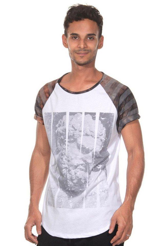 CATCH T-Shirt in weiss