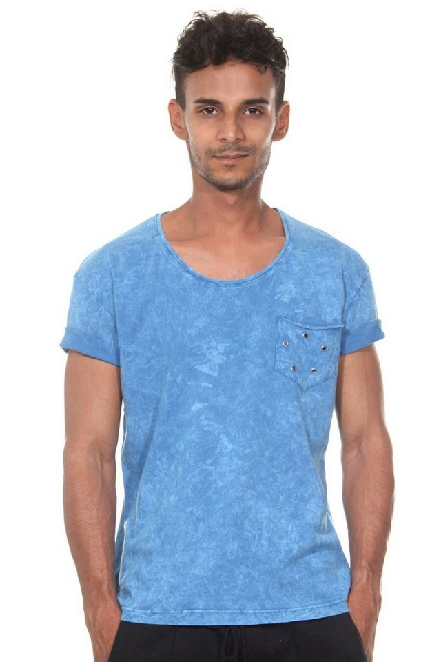 CATCH T-Shirt in blau