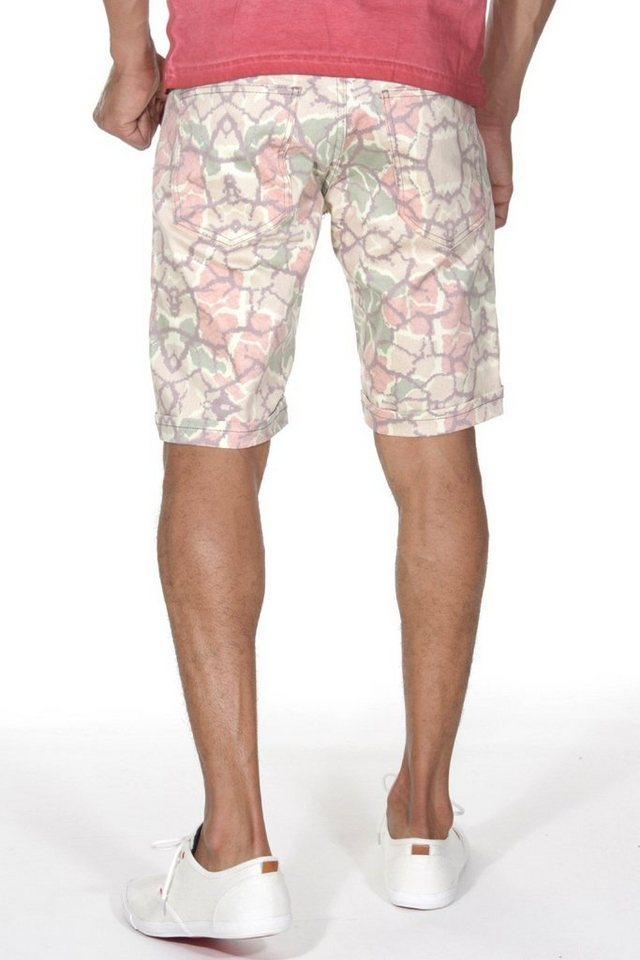 CATCH 5-Pocket Shorts in camouflage