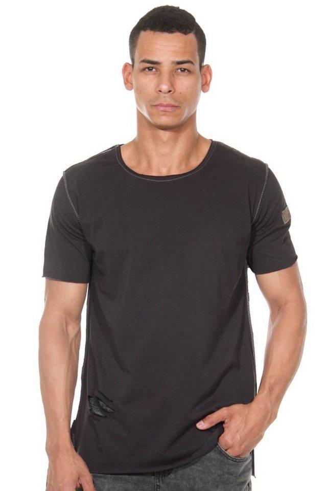 CATCH T-Shirt in dunkelgrau