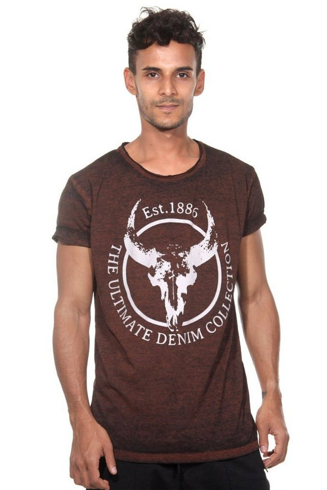 CATCH T-Shirt in braun