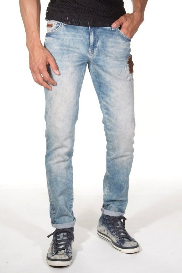 CATCH Stretchjeans in blau