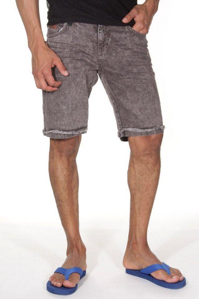 CATCH Denim Shorts in braun
