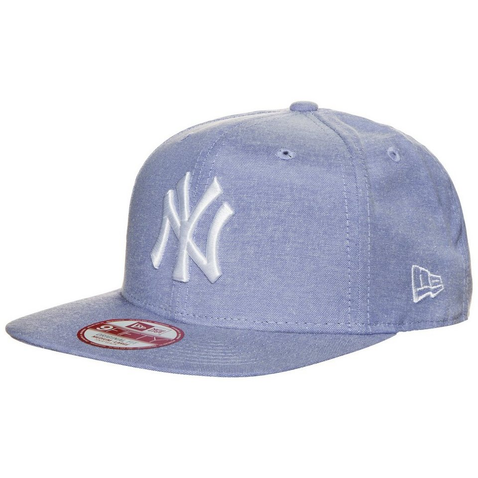 New Era 9FIFTY Lights New York Yankees Snapback Cap in hellblau / weiß
