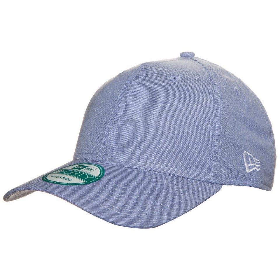 New Era 9FORTY Strapback Cap in hellblau