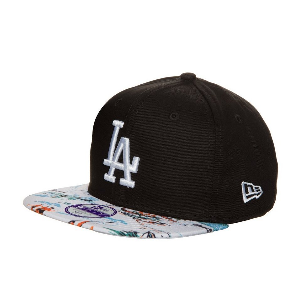 New Era 9FIFTY MLB Los Angeles Dodgers Snapback Cap Kinder in schwarz / bunt