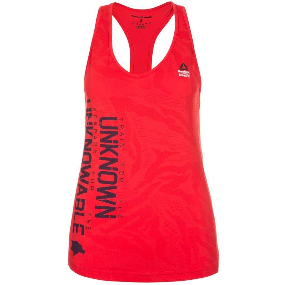 REEBOK CrossFit Strength Trainingstank Damen in rot / schwarz