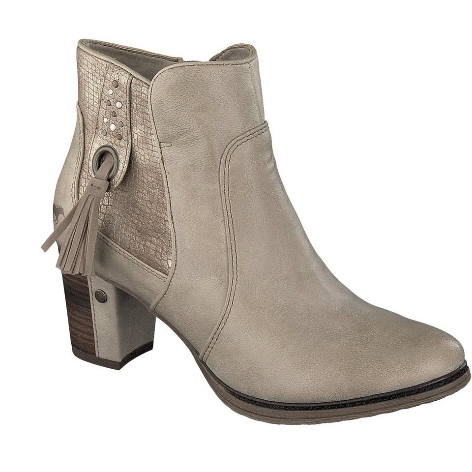 MUSTANG SHOES Stiefelette in ivory