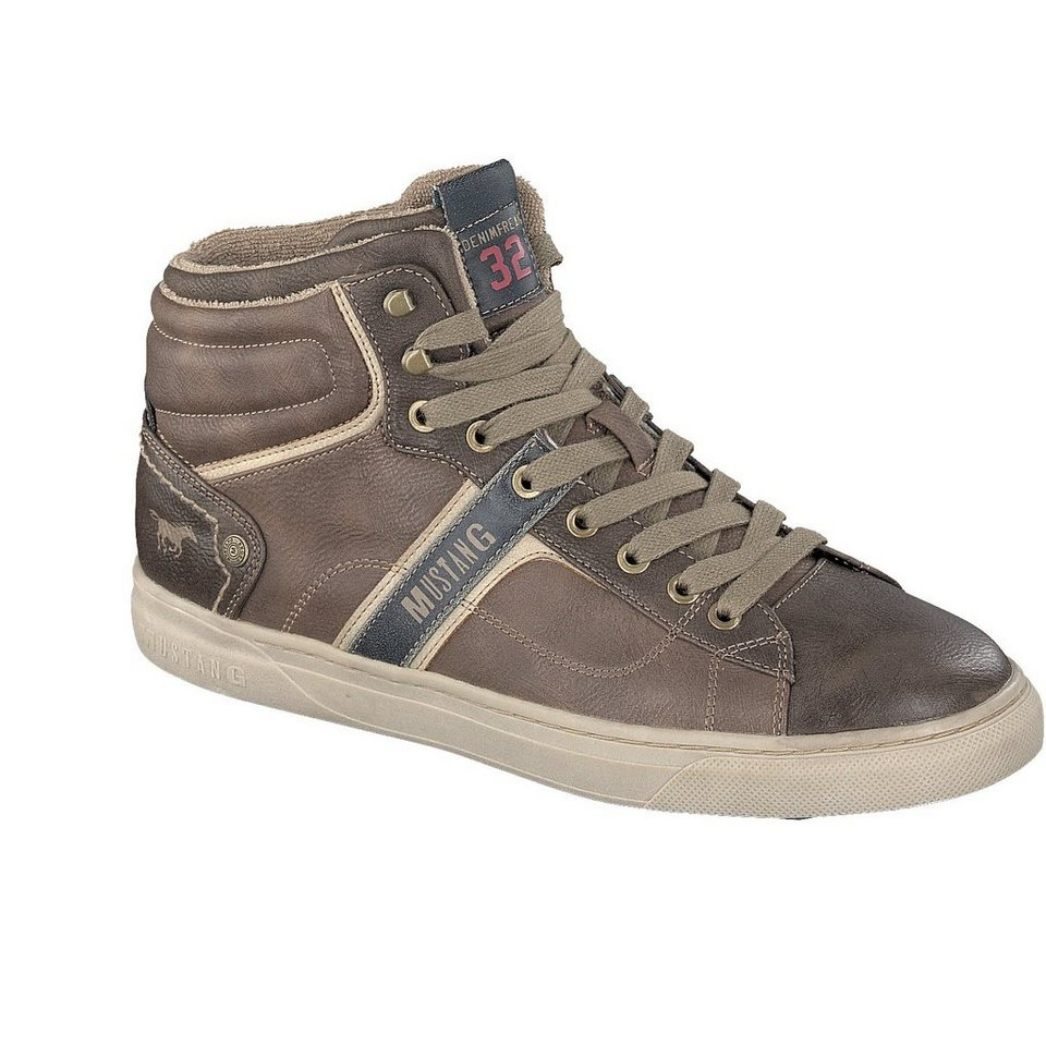 MUSTANG SHOES High Top Sneaker in braun