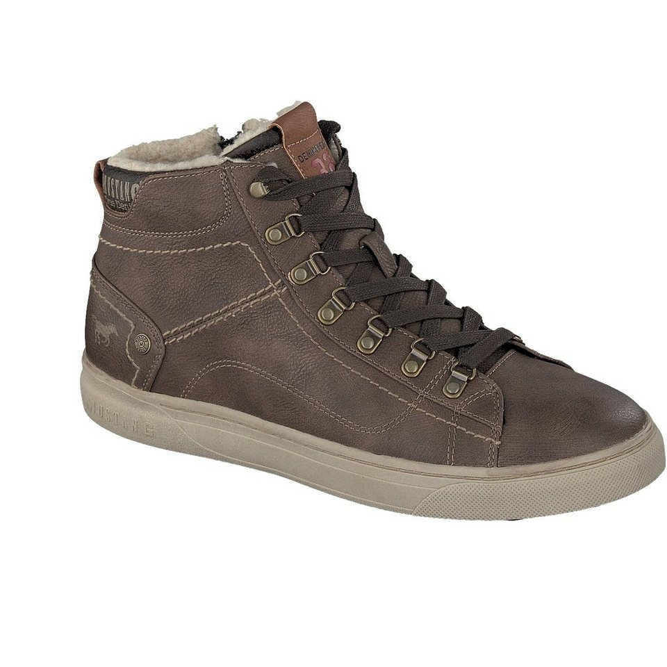 MUSTANG SHOES High Top Sneaker in braun