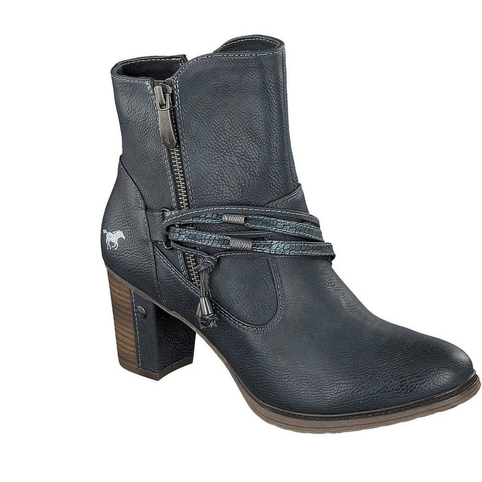 MUSTANG SHOES Stiefelette in navy