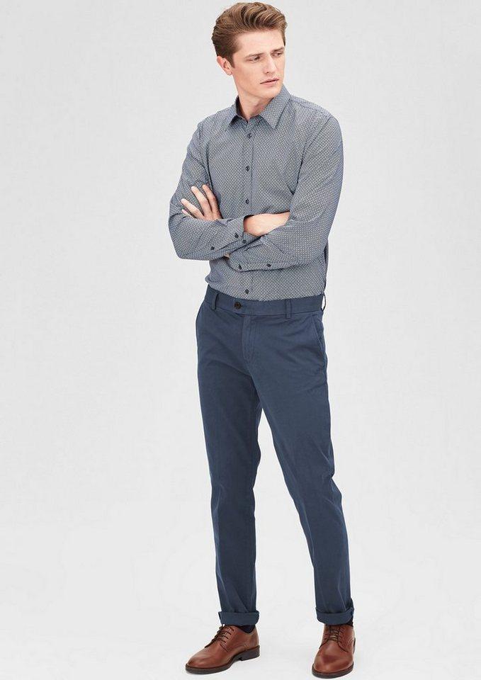 s.Oliver BLACK LABEL Mauro Slim: Stretch-Jeans in indigo