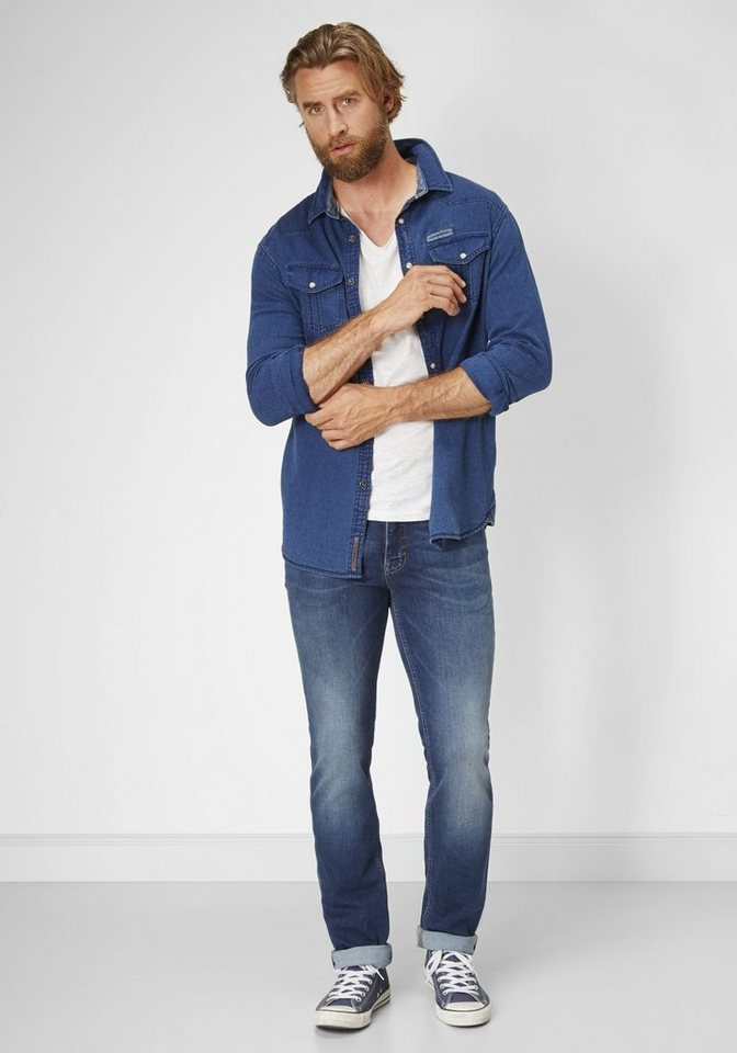 PADDOCK'S Stretch Jeans »RANGER« in dk stone soft using