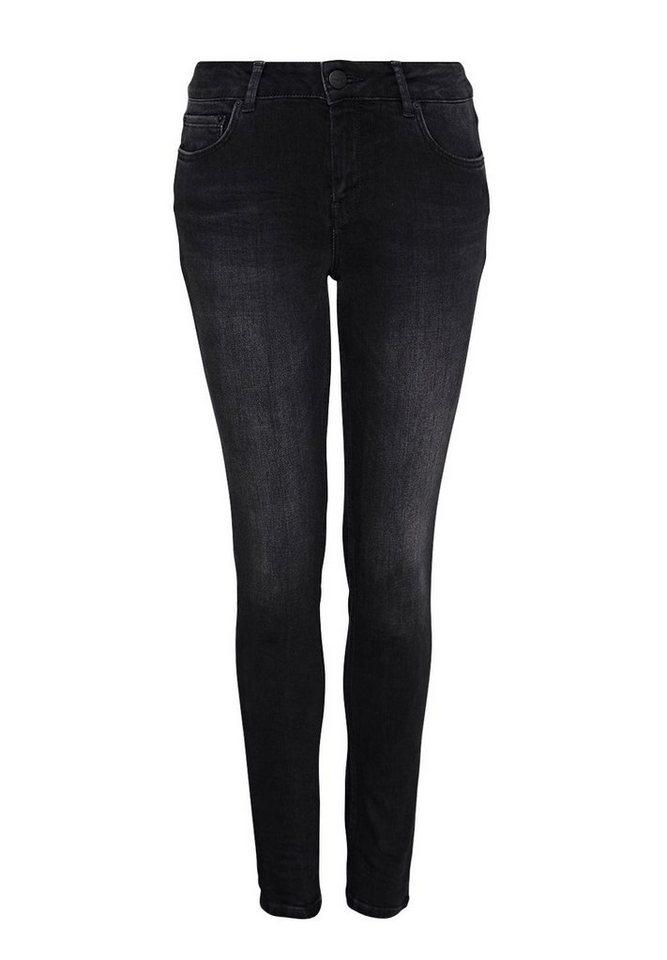 HALLHUBER Skinny-Jeans in black denim