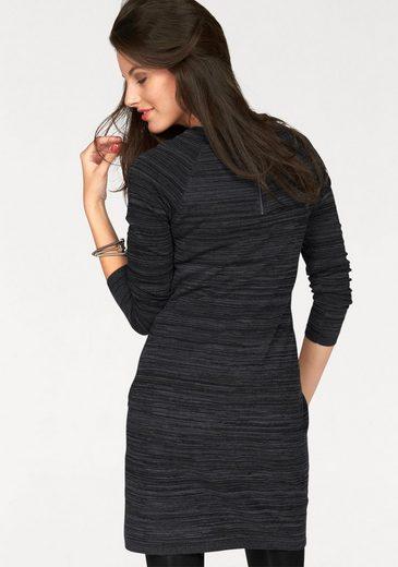 Aniston Strickkleid, mit Reißverschluss