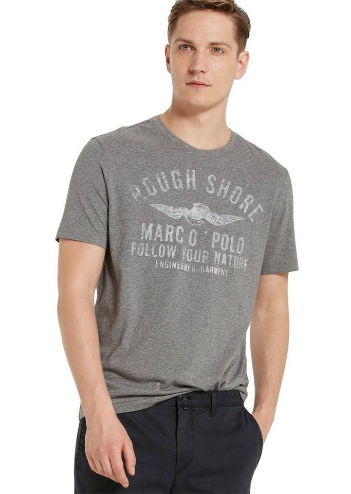 Marc O'Polo Shirt in 936 grey melange