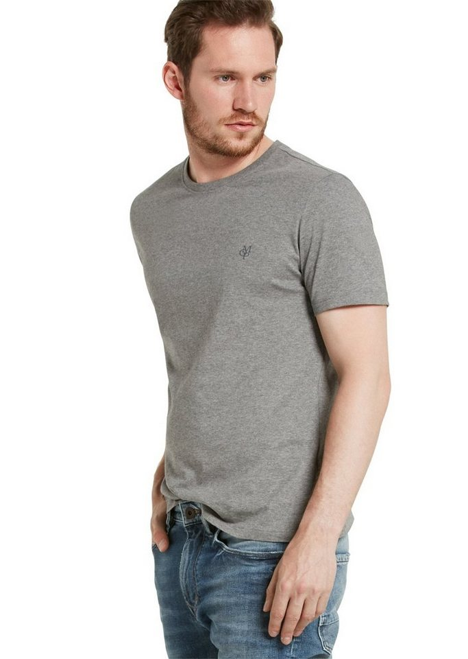 Marc O'Polo Shirt in 936 grey melange