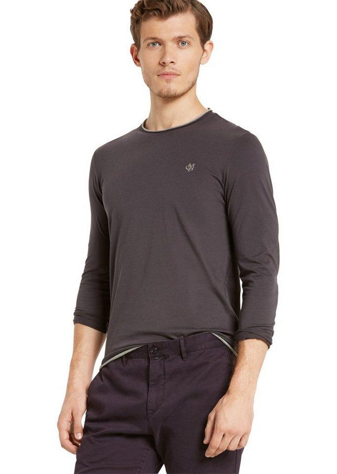 Marc O'Polo Shirt in 975 pencil grey