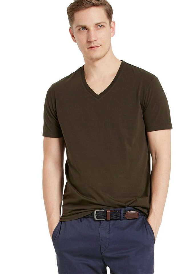 Marc O'Polo Shirt in 493 deep forest