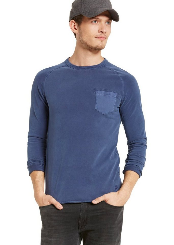 Marc O'Polo Sweatshirt in 873 moonblue