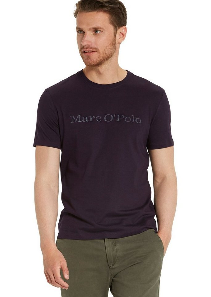 Marc O'Polo Shirt in 691 aubergine