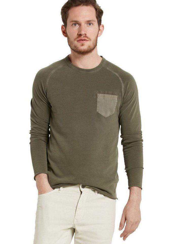 Marc O'Polo Sweatshirt in 493 deep forest