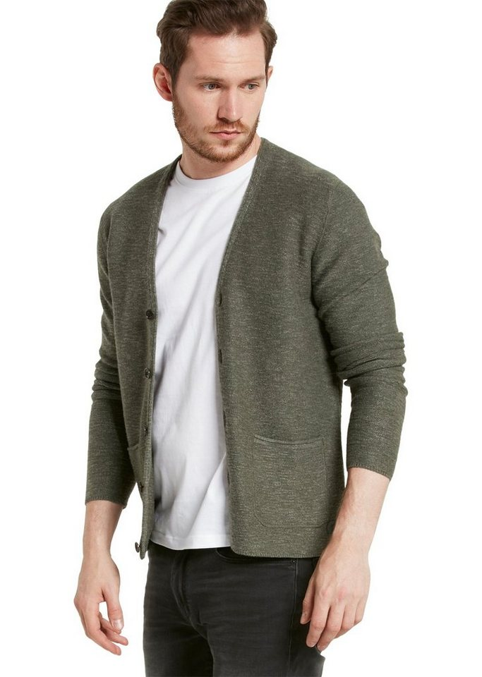 Marc O'Polo Cardigan in 492 olive