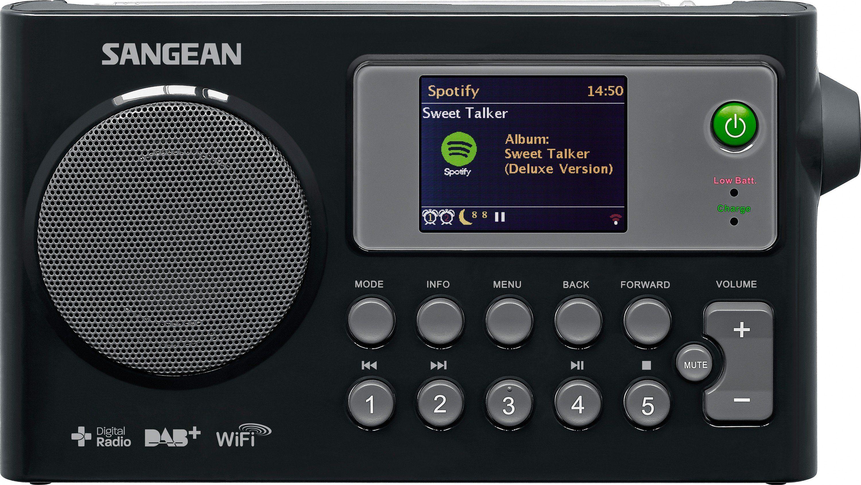 Sangean Internetradio (DAB+/UKW, WLAN, Spotify) »WFR-27C«