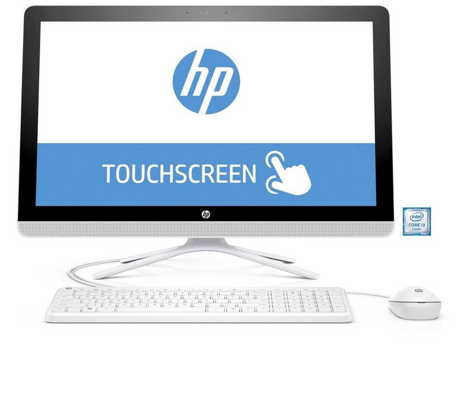 """HP 22-b064ng All-in-One PC »Intel Core i3, 54,6cm (21,5""""), 1 TB SSHD, 4 GB« in weiß"""