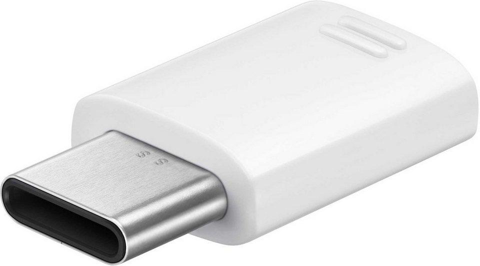 Samsung Zubehör »USB-C auf Micro USB Adapter, EE-GN930« in Weiß