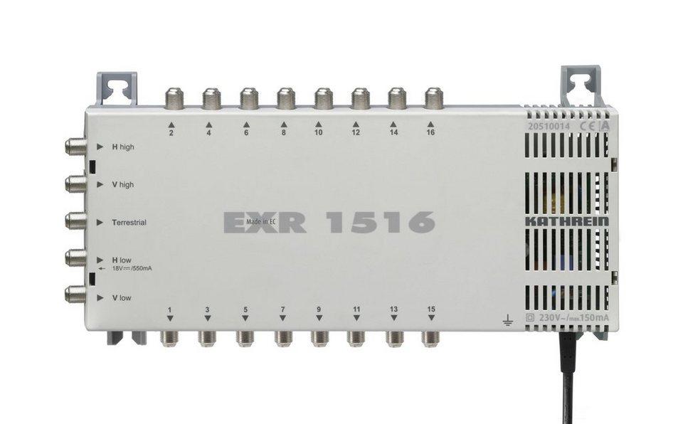 Kathrein Multischalter 5 auf 16 »EXR 1516« in weiss