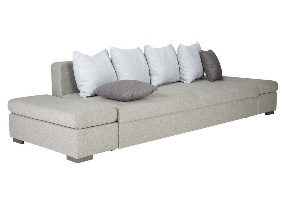 massivum Sofa aus Velours »Midras« in grau