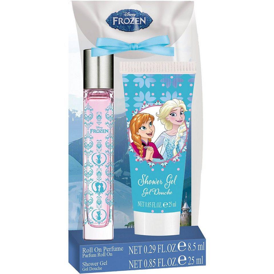 Duftset Die Eiskönigin mit Parfumeroller und Duschgel