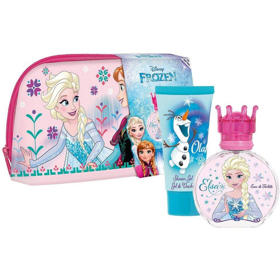 Geschenkset Die Eiskönigin inkl. Waschtasche, Duschbad und E