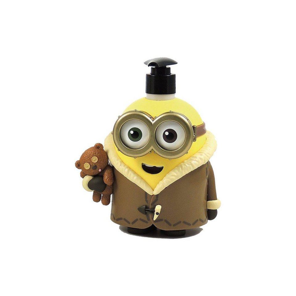 3D Seifenspender Bob inkl. Duschbad, Minions, 400 ml