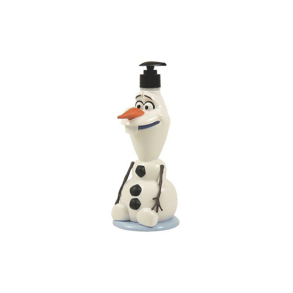 3D Seifenspender Olaf inkl. Duschbad, Die Eiskönigin, 400 ml