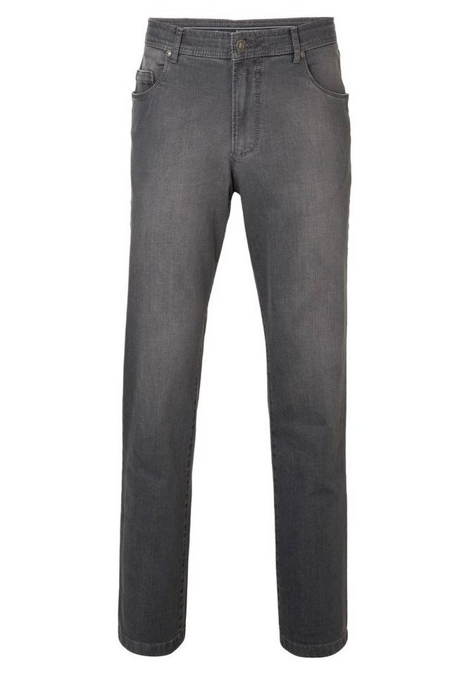 EUREX by BRAX Herrenjeans Five-Pocket »PEP 350« in GREY