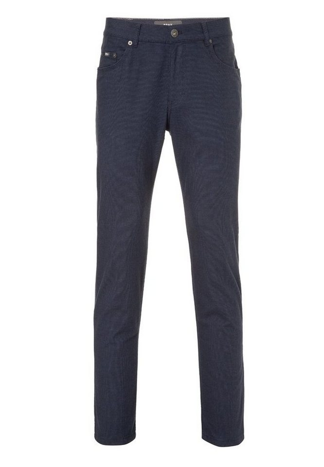BRAX Herrenhose Five-Pocket »COOPER FANCY« in NAVY