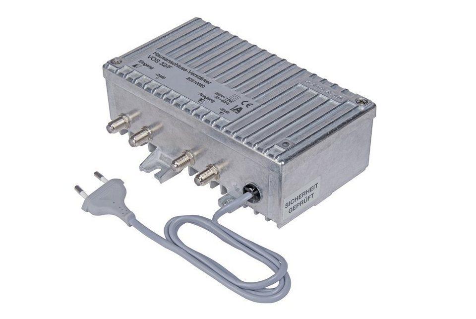 Kathrein Hausanschluss-Verstärker »VOS 32/F« in silber
