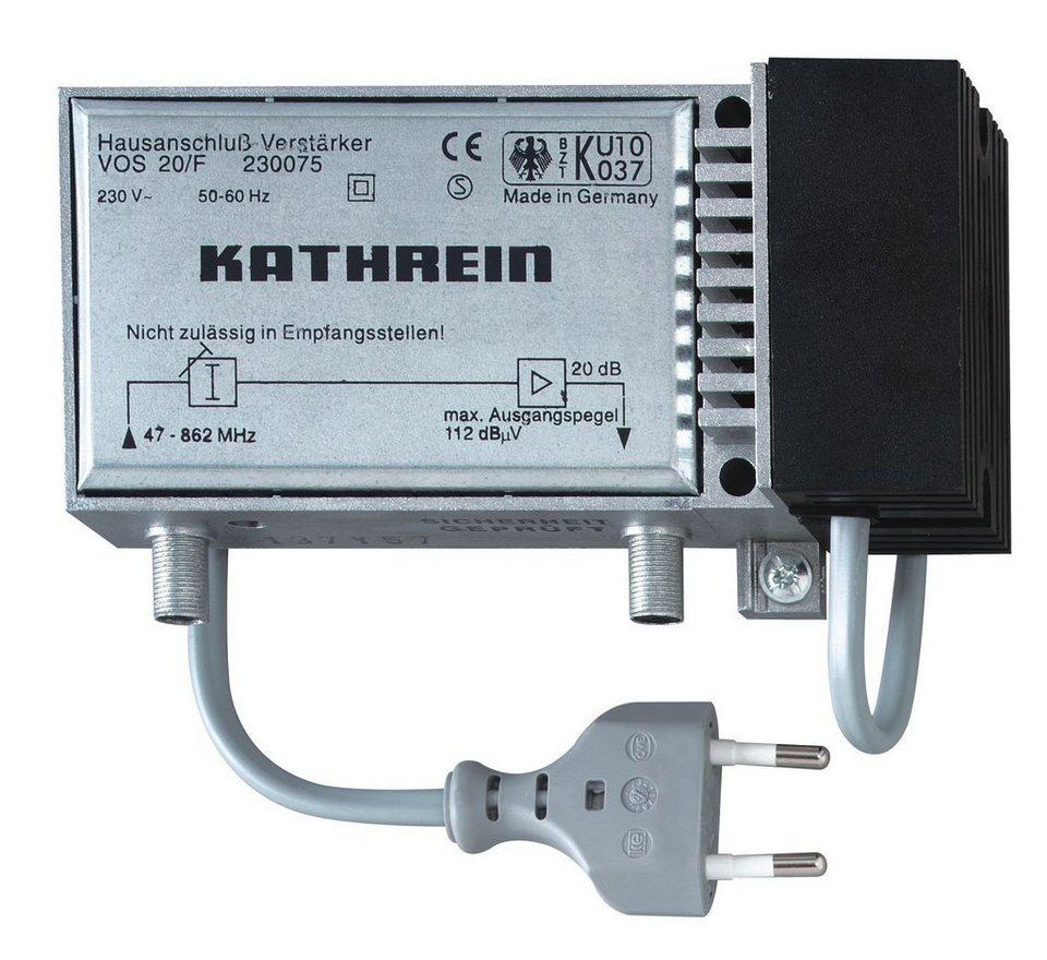 Kathrein Hausanschluss-Verstärker »VOS 20/F« in silber