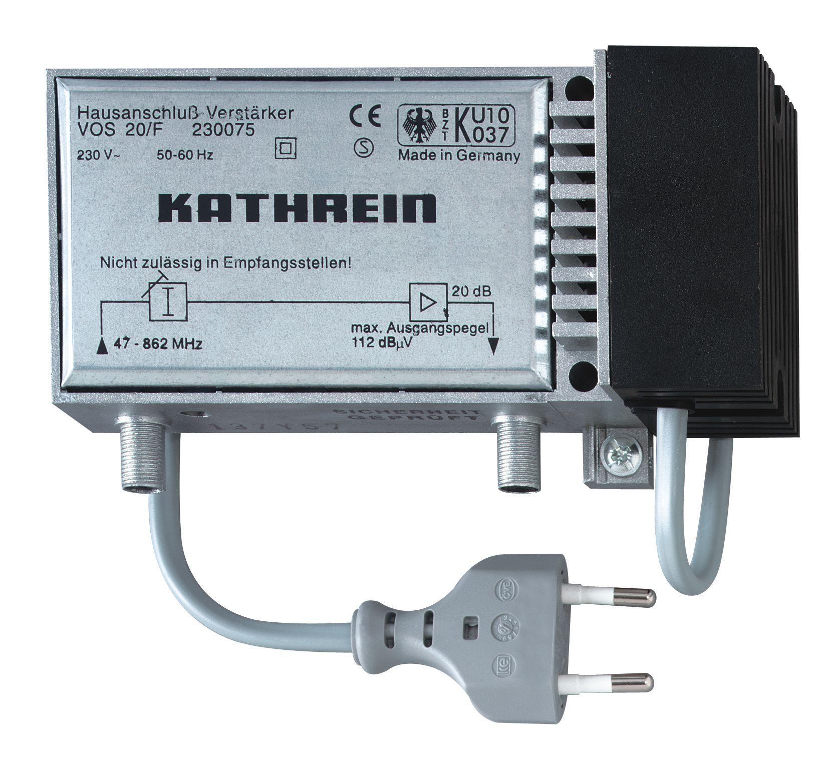 Kathrein Hausanschluss-Verstärker »VOS 20/F«