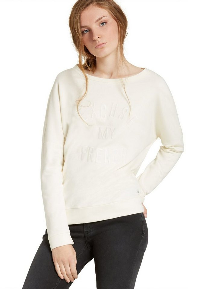 Marc O'Polo DENIM Sweatshirt in 109 soft white