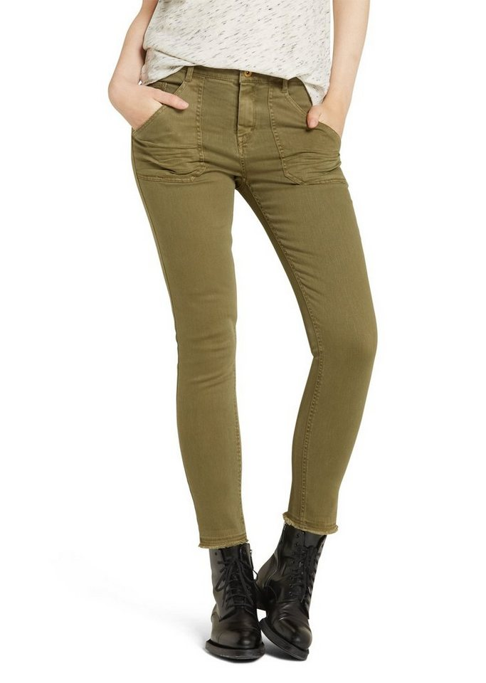Marc O'Polo DENIM Hose in 481 washed olive