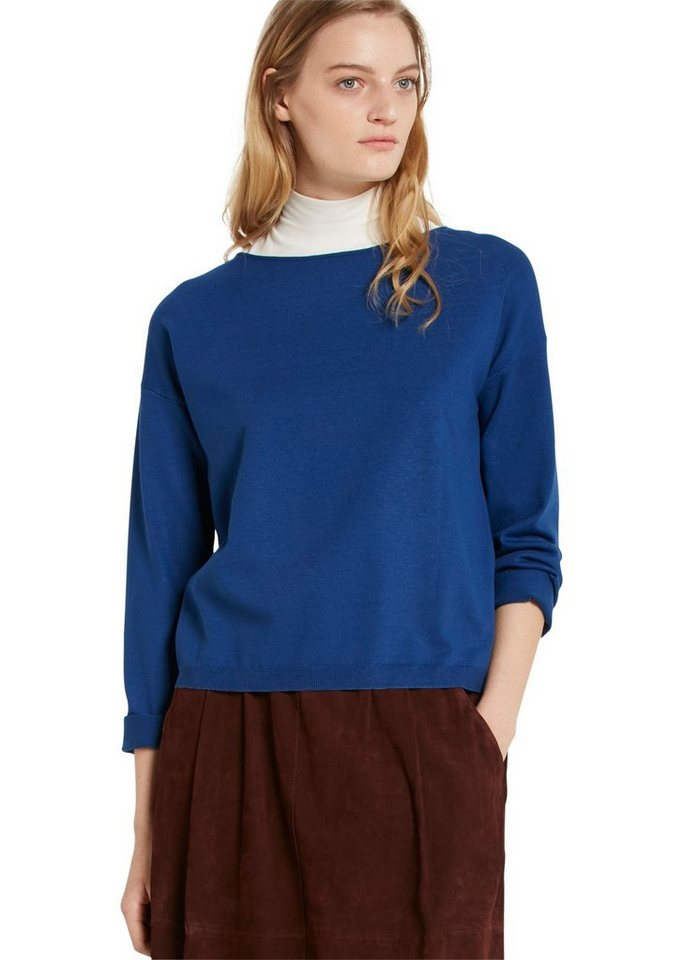 Marc O'Polo Pullover in 853 pacific blue