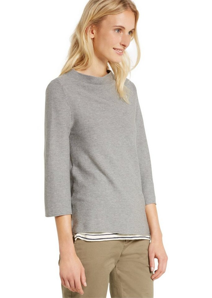 Marc O'Polo Pullover in 947 grey stone