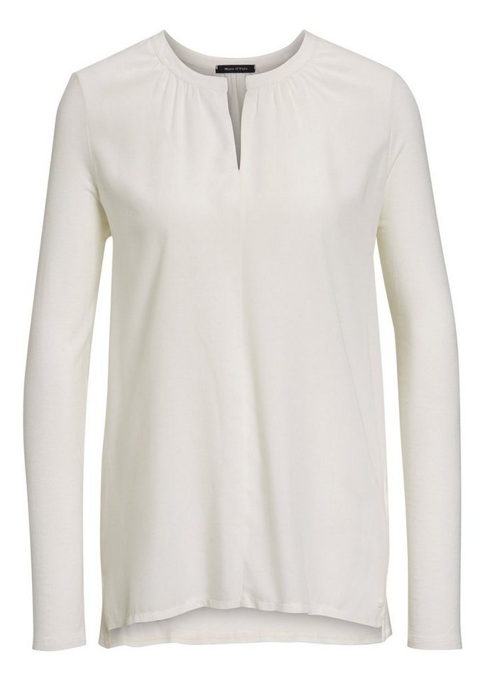 Marc O'Polo Shirt in 102 white cocoon