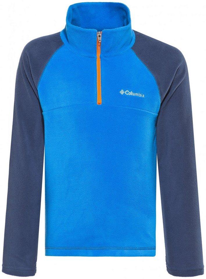 Columbia Pullover »Glacial Half Zip Boys« in blau