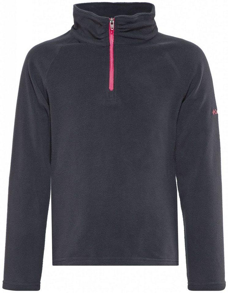 Columbia Pullover »Glacial Fleece Half Zip Girls« in schwarz
