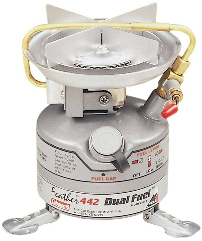 Coleman Camping-Kocher »Unleaded Feather Stove« in grau
