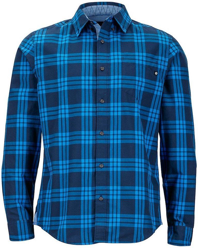 Marmot Hemd »Cobblestone LS Men« in blau